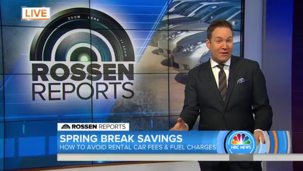 "The Today Show Reveals the ""Secrets You Need to Save Money"" on a Car Rental"