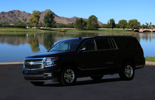 Rent a Chevrolet Suburban from Phoenix Van Rental