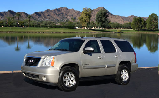 GMC Yukon for Rent in Phoenix AZ
